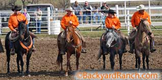 Ranch Rodeo Team for Backyard Ranch.
